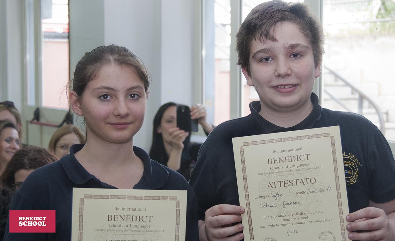 Attestati_Benedict_School_Pomigliano_Serau_1